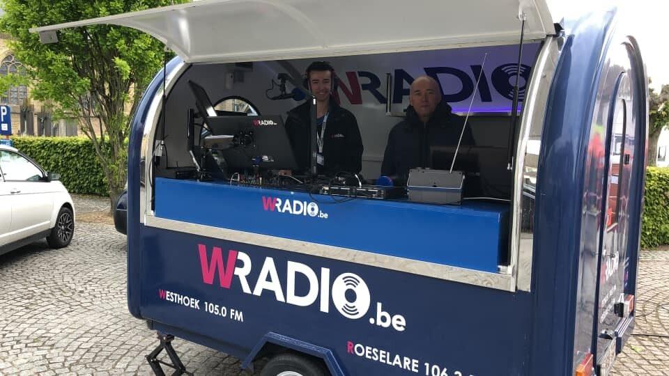 Mobiele studio Monteberg Rally